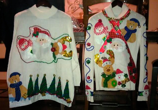 Ugly tacky christmas sweaters by kathleen heady homecreationseveryday how to make ugly christmas sweaters solutioingenieria Image collections