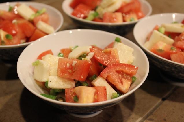Mozzarella Jalapeno Salad