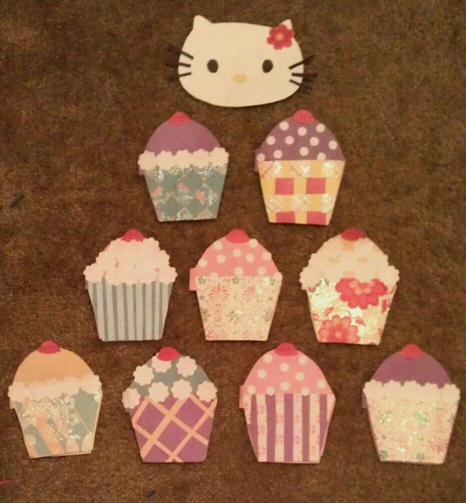 diy cupcake birthday invitations homecreationseveryday